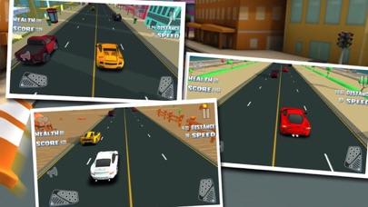 3D 楽しいレースゲーム 最高の車ゲーム 無料の高速レースのおすすめ画像3