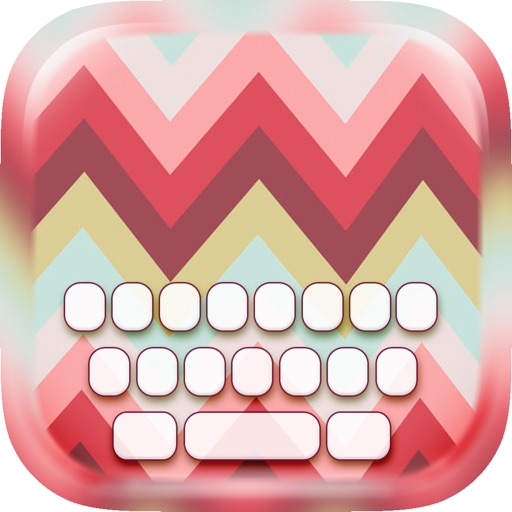 KeyCCM –  Monogram : Custom Colour & Wallpaper Keyboard Themes in The Art Designs Collection Style