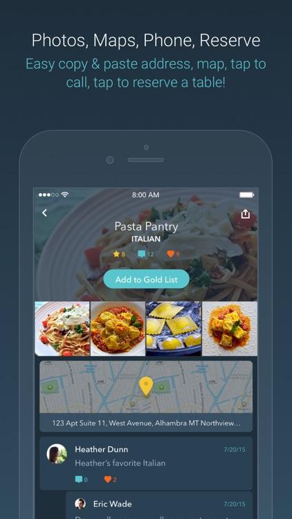 Bestaurant – find friends' favorite food screenshot-3