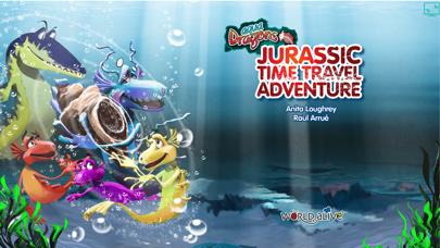 Aqua Dragons Jurassic Time Travel Adventure Interactive Book screenshot one