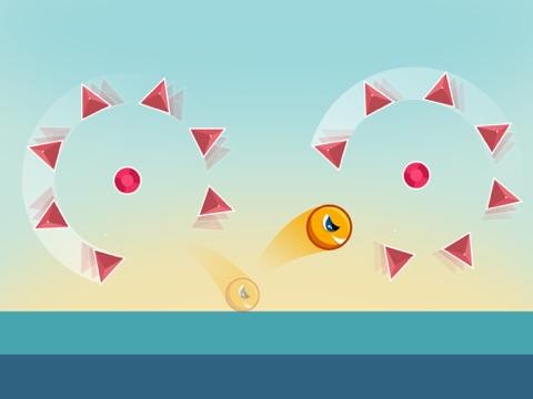 Screenshot #2 for Jumping Genius - Hyper Monster Rush & Swiper Shape Mobile Game