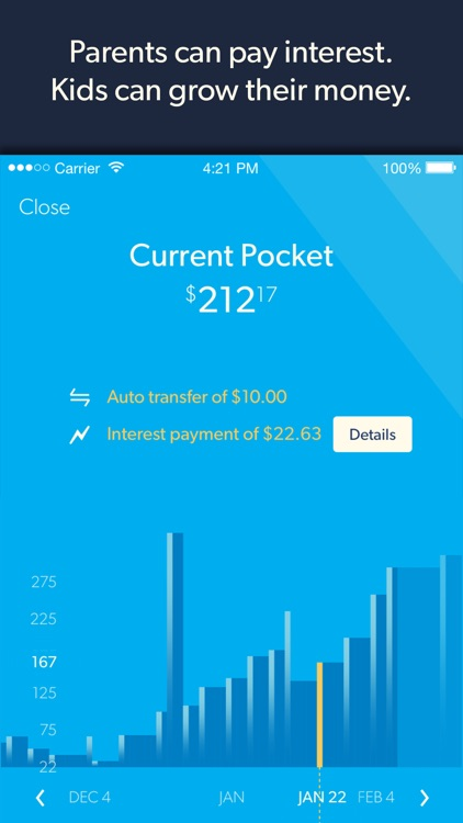 Nickel - The Allowance Manager and MasterCard Prepaid Card screenshot-3