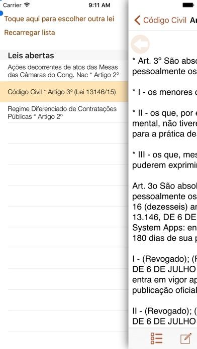 Vade Mecum Pro Direito Brasil Скриншоты6