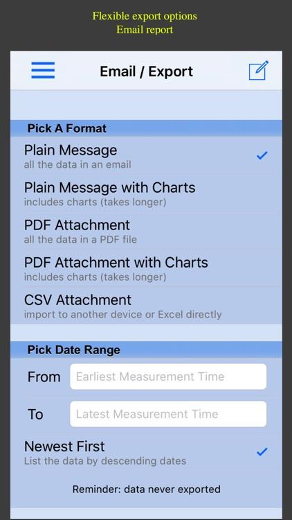 Blood Pressure Monitor - Pro screenshot-4