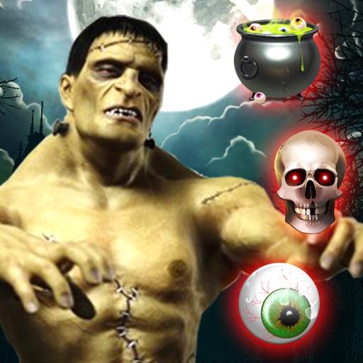 Monster Mash Мания Хэллоуин - тыквы Носите костюмы и собирать привидениями обои