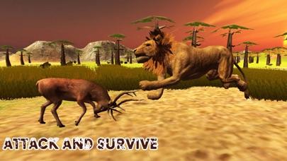 Lion Simulator 3D - Ultimate Wild Life Lion Simulator screenshot three