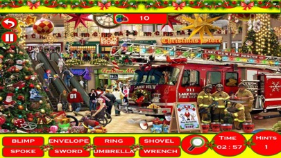 Christmas Party Fun Hidden Objects Edition 100 Levels Combo screenshot one