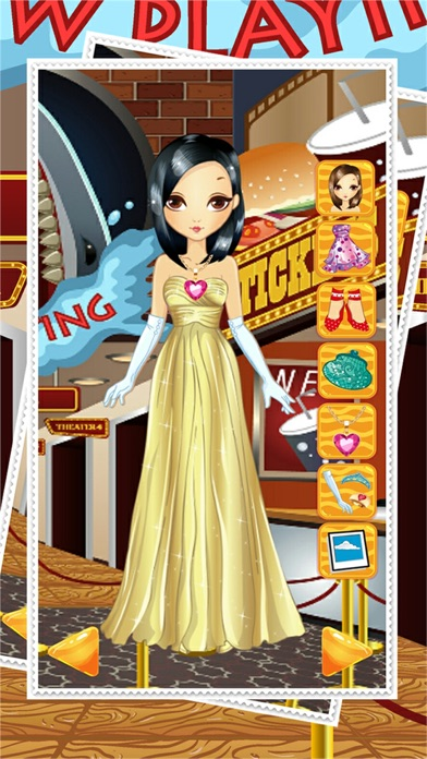 Lady Prom Night And Bride Dress Up Games For Free - My Party Fashion Pretty Girl Make Over With Star screenshot four