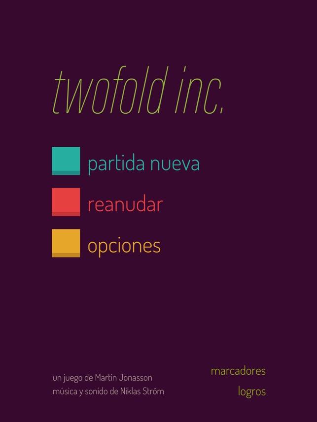 twofold inc. en App Store
