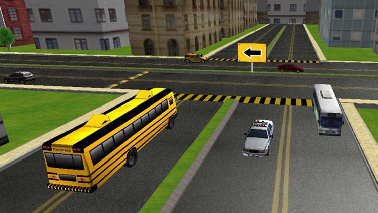 School Bus 3D Free screenshot-2