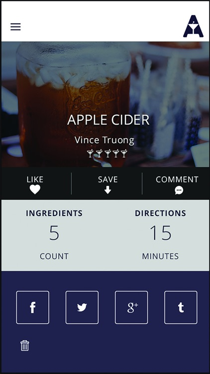 Alchomy - Cocktail Recipes & Bar Locator