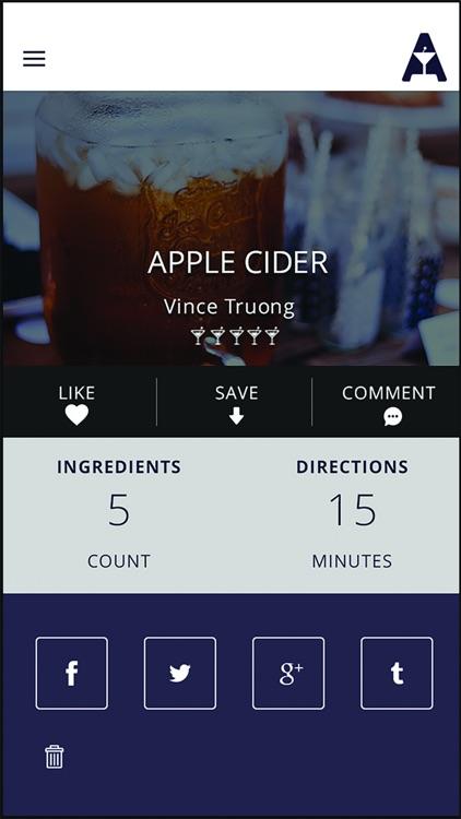 Alchomy - Cocktail Recipes & Bar Locator