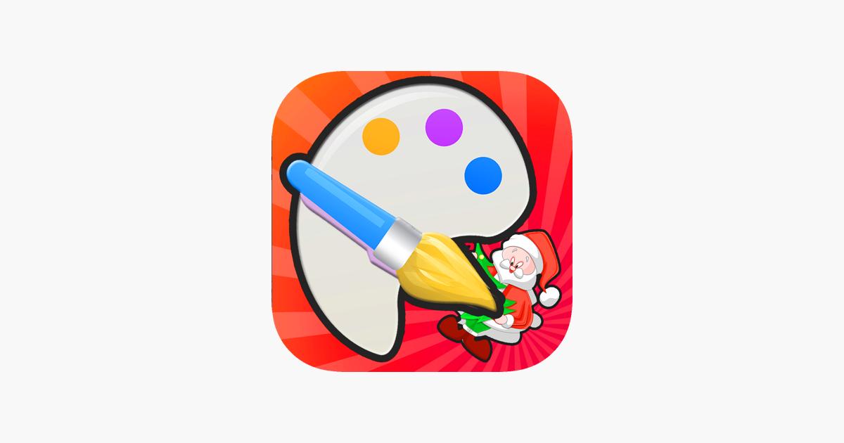 Noel çocuk Boyama Kitabı Crayon ücretsiz App Storeda
