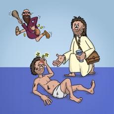 Activities of Play Bible - arrange bible scenes and listen to the story