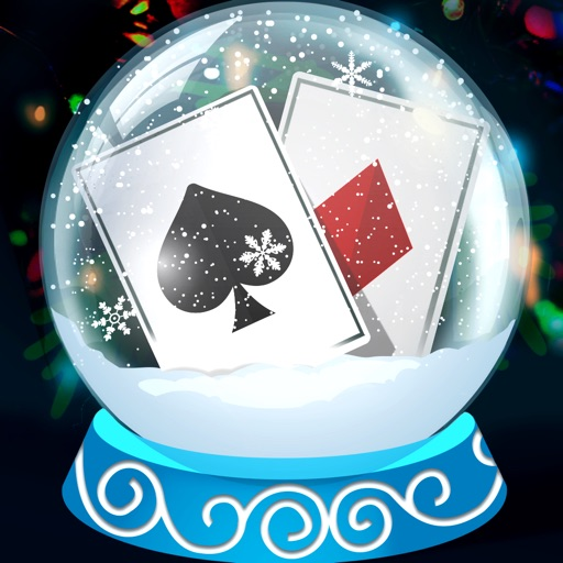 Solitaire Christmas. Match 2 Cards. Card Game By 8Floor