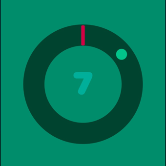 Impossible Circle Color Swap Pop by top free apps ltd