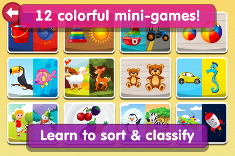 Smart Baby Sorter HD - Early Learning Shapes and Colors / Matching and Educational Games for Preschool Kids screenshot 2