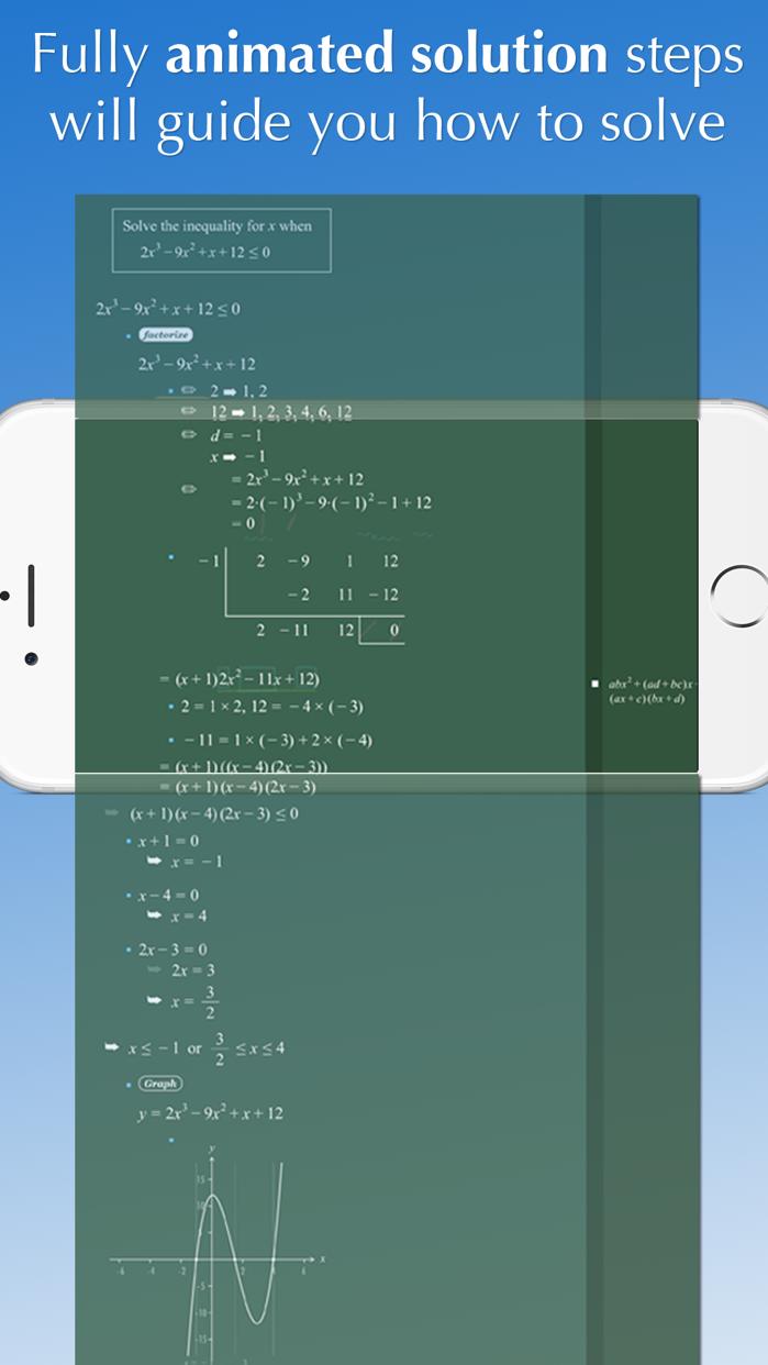 FX Math Solver Screenshot