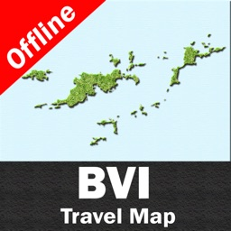 BRITISH VIRGIN ISLANDS – GPS Travel Map Offline Navigator