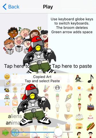 emOte Sticker Keyboard and Clipart screenshot 1