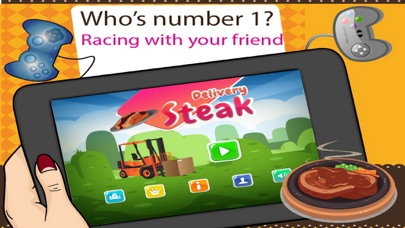 Steak and Grill Delivery - Serving T-bone to Steak House screenshot one