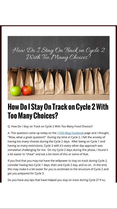 Diet meal plan blogs