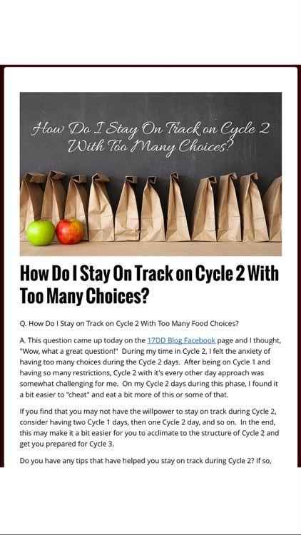 17dd Blog - 17 Day Diet Recipes and Meal Plans screenshot-4