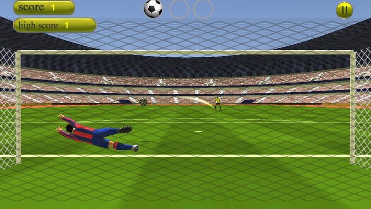 Free Kick Goalkeeper - Lucky Soccer Cup:Classic Football Penalty Kick Game screenshot-3