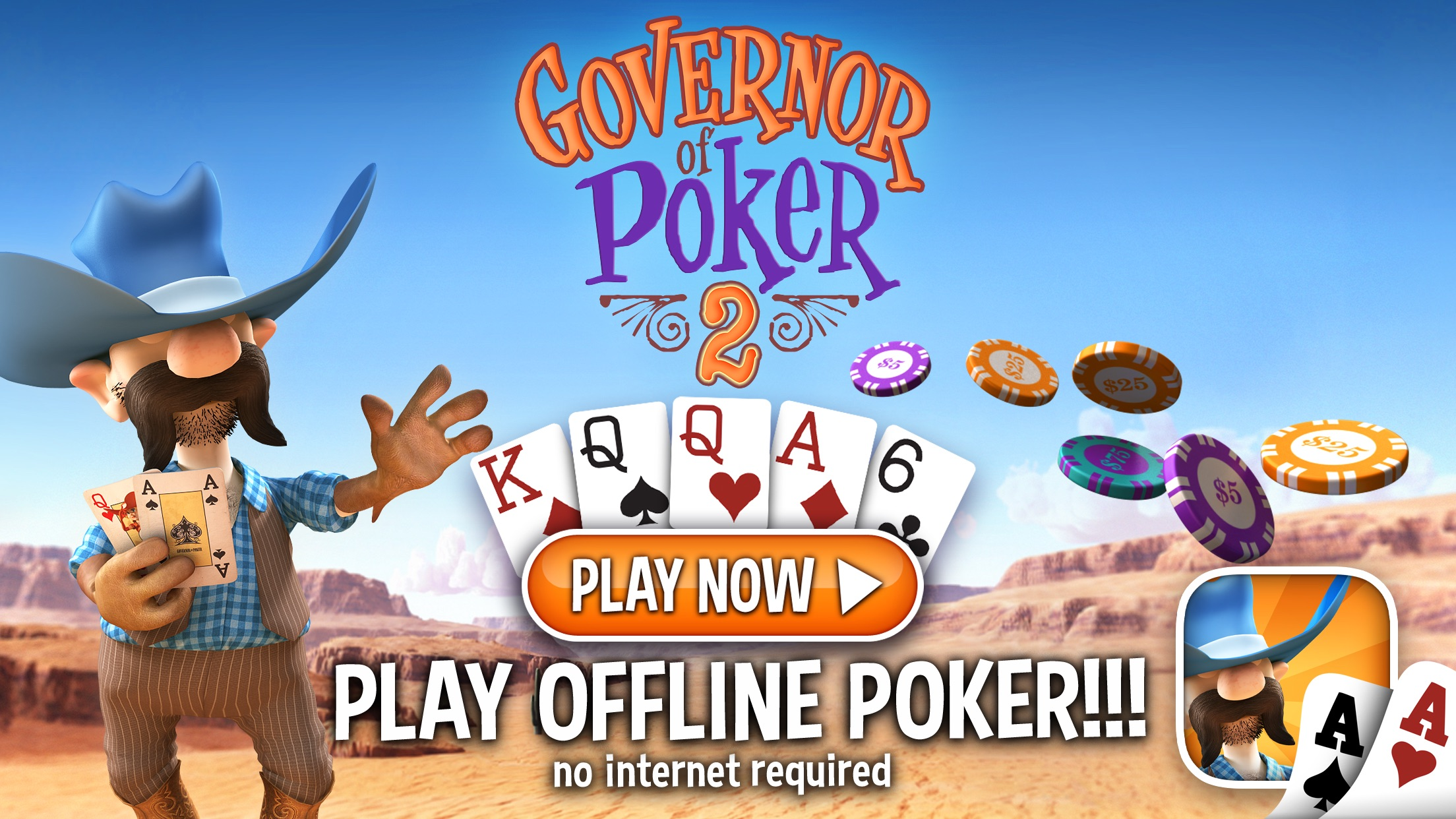 Governor of Poker 2 - Texas Holdem Poker Offline Screenshot
