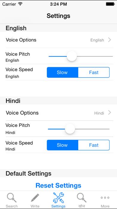 Hindi Dictionary English Free With Sound screenshot three