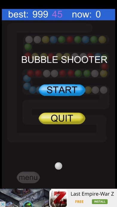 Bubble Shooter:Zig Zag Way screenshot two