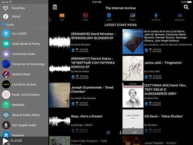 The Internet Archive Companion on the App Store