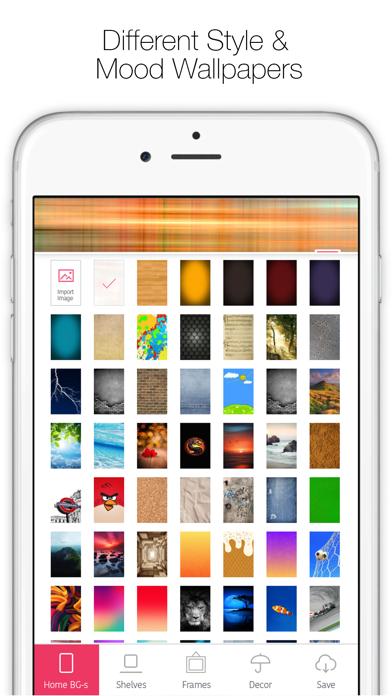Icon Skins Builder - カスタムホーム・ロックスクリーンバックグラウンド・壁紙の作成のおすすめ画像4