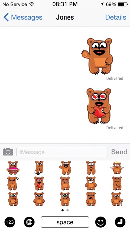 Bear Emojis screenshot-3