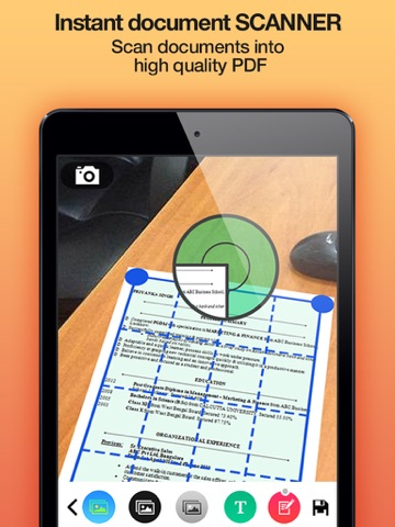 iScan Free - Instant document scanner and PDF converter | App Price