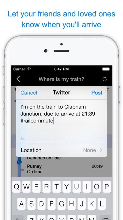 Rail Commute - Live UK Train Times & Platform Info screenshot-4