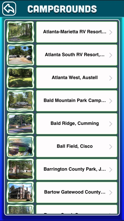 Georgia Campgrounds & RV Parks