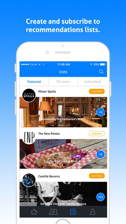 Rekky - Discover new places through friends and tastemakers screenshot-4