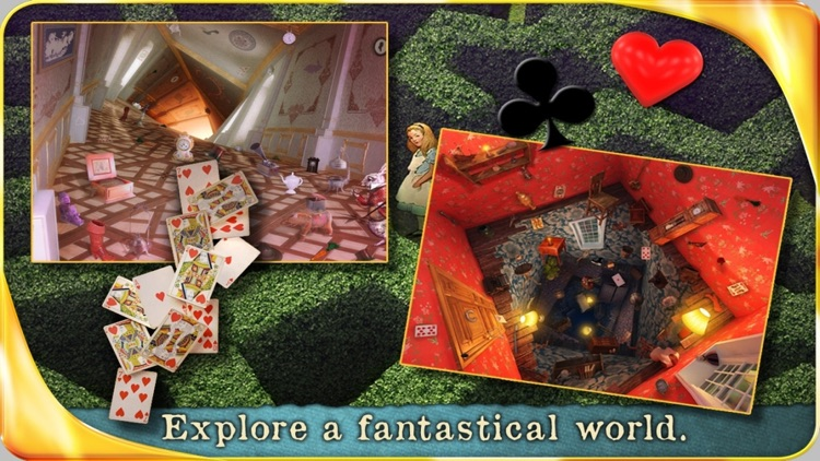 Alice in Wonderland (FULL) - Extended Edition - A Hidden Object Adventure screenshot-0