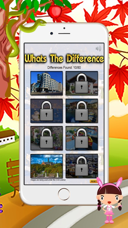 What is the difference - Spot the Differences 10