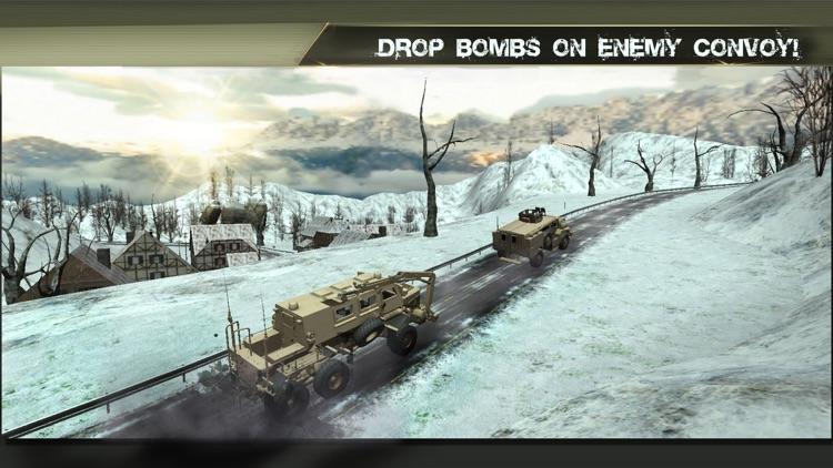 Helicopter Pilot Air Strike 3D War Simulator screenshot-3