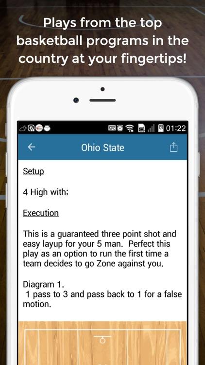 Basketball Offense Playbook screenshot-3