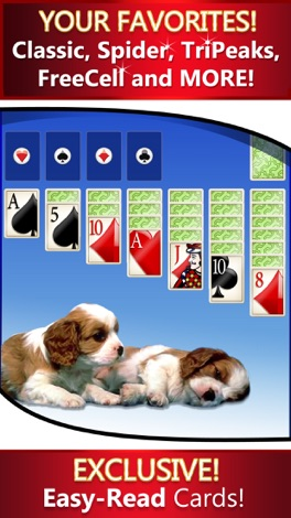 Solitaire Deluxe® 16 Pack screenshot for iPhone