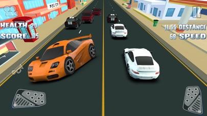 3D 楽しいレースゲーム 最高の車ゲーム 無料の高速レースのおすすめ画像4