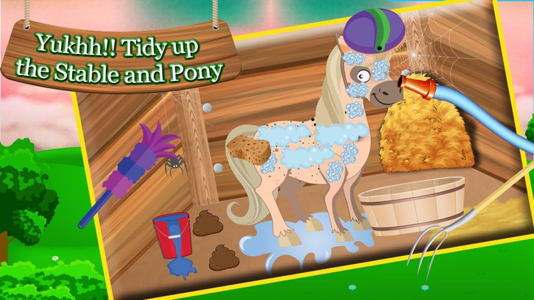 Little Pony Horse Care - Baby Horse