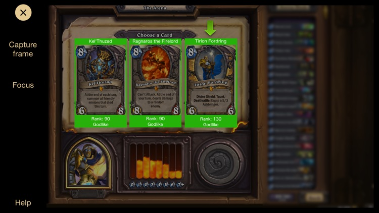 HART - Hearth Arena Ranking Tool - deck building utility for Hearthstone screenshot-3