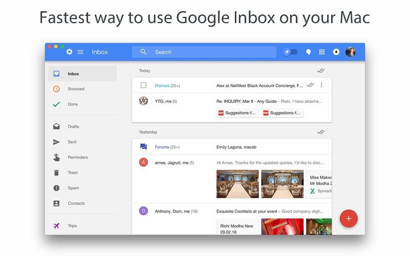Go for Inbox Screenshot