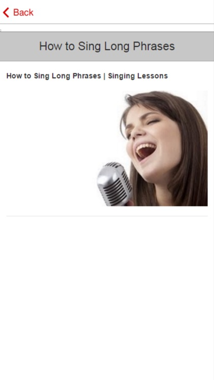 Singing Course - How to Improve Your Singing Voice screenshot-4