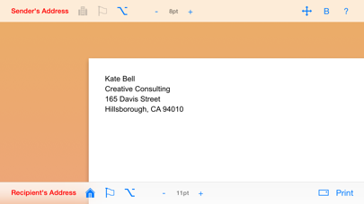 Envelope Maker review screenshots
