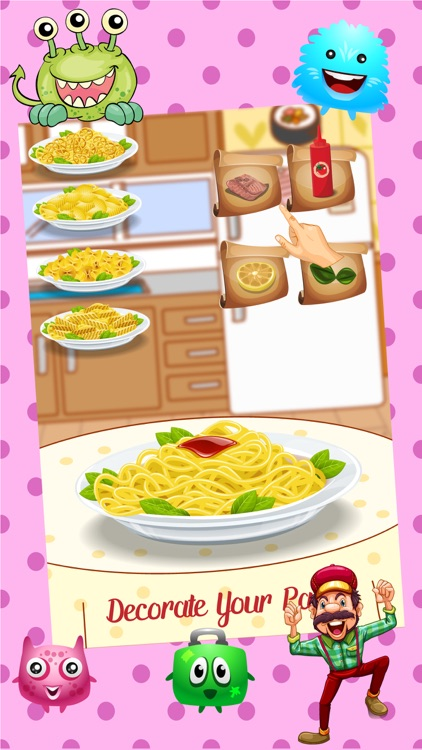 Pasta Maker – Crazy Star Chef Kitchen Cooking games for girls screenshot-3